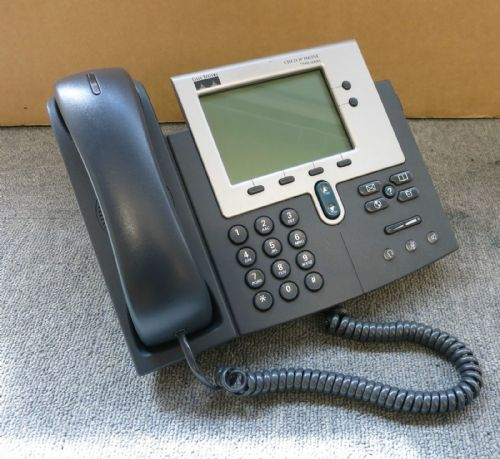Cisco CP-7940G Unified VoIP IP Phone 7900 Series